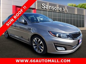 2015 Titanium Silver Kia Optima SX Turbo Sedan FWD Automatic 4 Door