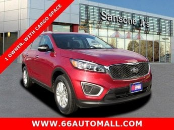 2016 Remington Red Kia Sorento LX FWD 4 Door Regular Unleaded I-4 2.4 L/144 Engine Automatic SUV
