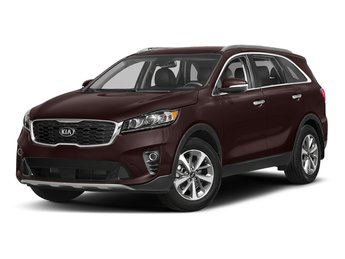 2019 Sangria Kia Sorento LX V6 SUV Automatic Regular Unleaded V-6 3.3 L/204 Engine