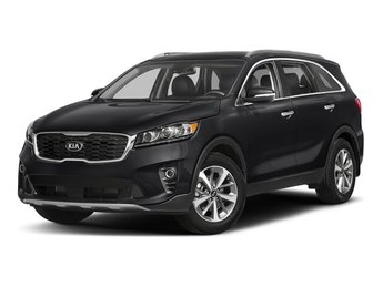 2019 Ebony Black Kia Sorento LX V6 Regular Unleaded V-6 3.3 L/204 Engine 4 Door SUV