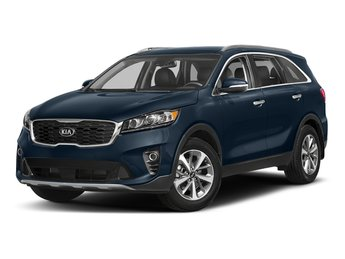 2019 Blaze Blue Kia Sorento LX V6 Automatic 4 Door SUV Regular Unleaded V-6 3.3 L/204 Engine FWD