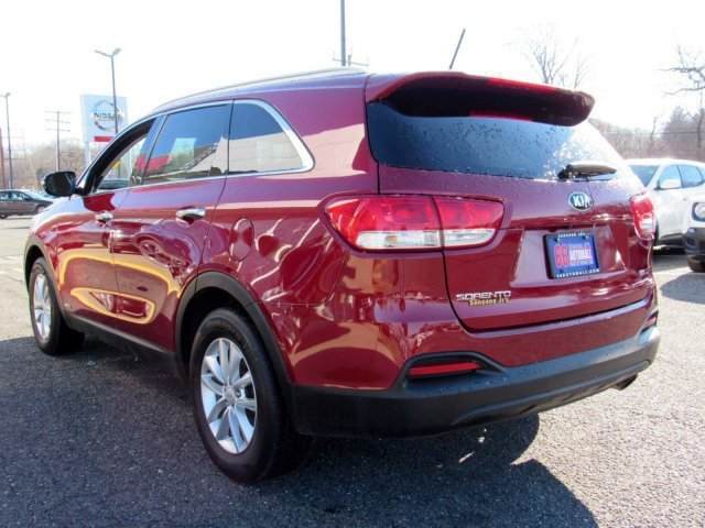 2016 Remington Red Kia Sorento LX AWD Regular Unleaded I-4 2.4 L/144 Engine Automatic 4 Door