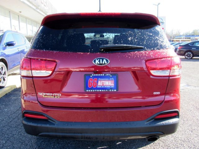 2016 Remington Red Kia Sorento LX AWD SUV Automatic