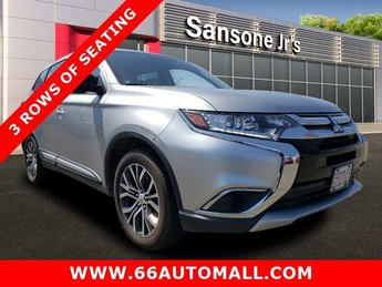 2018 Mercury Gray Metallic Mitsubishi Outlander ES Regular Unleaded I-4 2.4 L/144 Engine SUV 4 Door 4X4 Automatic (CVT)