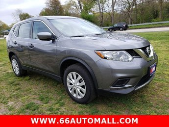 2016 Nissan Rogue S 4 Door Automatic (CVT) Regular Unleaded I-4 2.5 L/152 Engine AWD SUV