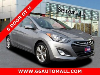 2014 Titanium Gray Metallic Hyundai Elantra GT Base FWD Regular Unleaded I-4 2.0 L/122 Engine 4 Door Hatchback