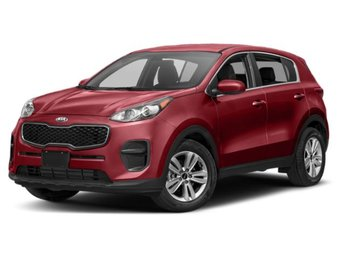 2019 Hyper Red Kia Sportage LX Automatic FWD Regular Unleaded I-4 2.4 L/144 Engine SUV 4 Door
