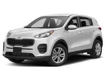 2019 Clear White Kia Sportage LX SUV 4 Door Automatic