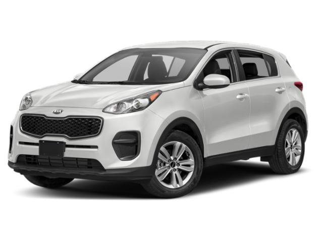 2019 Clear White Kia Sportage LX 4 Door Regular Unleaded I-4 2.4 L/144 Engine Automatic AWD