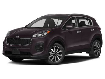 2019 Black Cherry Kia Sportage EX AWD 4 Door Regular Unleaded I-4 2.4 L/144 Engine SUV