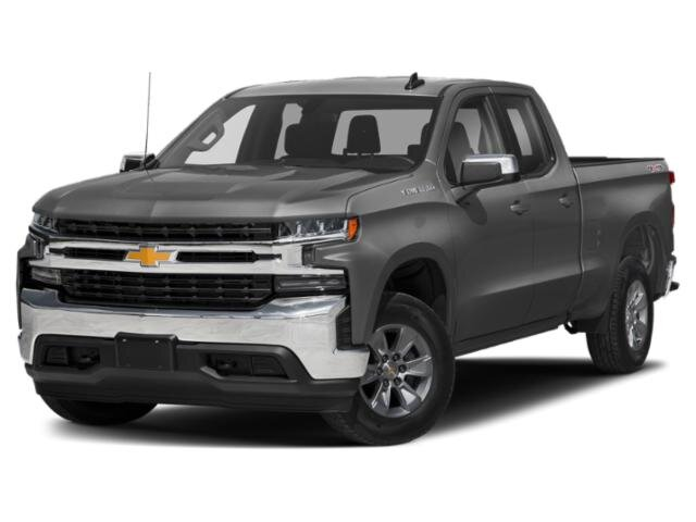 2020 Satin Steel Metallic Chevrolet Silverado 1500 LT Automatic 4X4 Truck 4 Door EcoTec3 5.3L V8 Engine