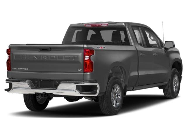 2020 Satin Steel Metallic Chevrolet Silverado 1500 LT Truck Automatic 4 Door 4X4 EcoTec3 5.3L V8 Engine