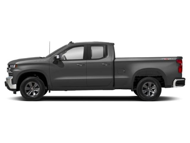 2020 Satin Steel Metallic Chevrolet Silverado 1500 LT 4X4 4 Door EcoTec3 5.3L V8 Engine