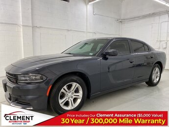 2019 Maximum Steel Metallic Clearcoat Dodge Charger SXT Sedan 3.6L 6-Cylinder SMPI DOHC Engine RWD Automatic 4 Door