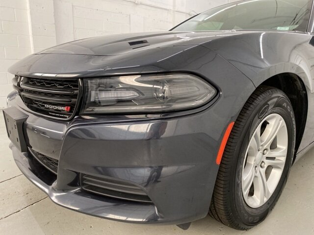 2019 Maximum Steel Metallic Clearcoat Dodge Charger SXT Sedan Automatic 3.6L 6-Cylinder SMPI DOHC Engine 4 Door RWD