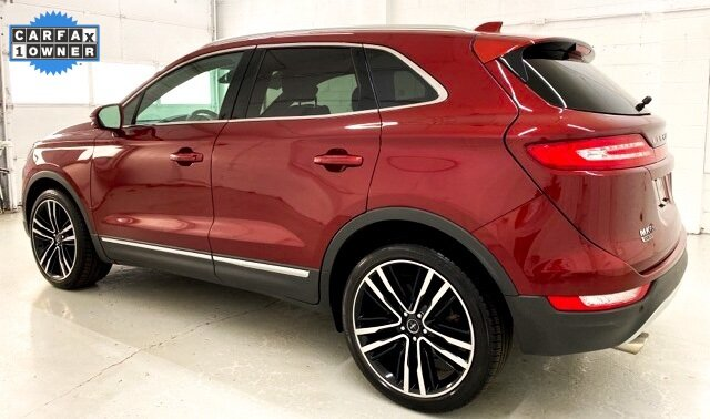 2017 Ruby Red Metallic Tinted Clearcoat Lincoln MKC Black Label 4 Door 2.3L GTDI Engine SUV AWD