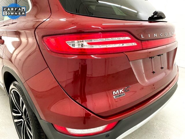 2017 Ruby Red Metallic Tinted Clearcoat Lincoln MKC Black Label Automatic SUV 4 Door 2.3L GTDI Engine AWD