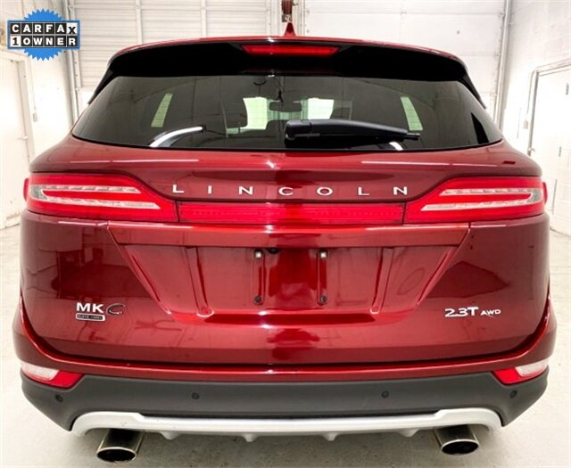 2017 Ruby Red Metallic Tinted Clearcoat Lincoln MKC Black Label AWD SUV 2.3L GTDI Engine 4 Door