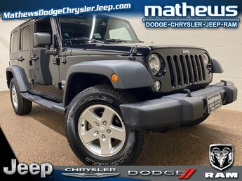 2014 Jeep Wrangler Sport Automatic 4 Door 4X4 SUV