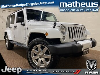 2016 Bright White Clearcoat Jeep Wrangler Sahara 3.6L V6 24V VVT Engine SUV Manual 4 Door 4X4