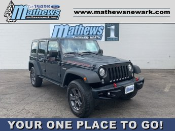 2017 Jeep Wrangler Unlimited Rubicon Recon Automatic 3.6 L 6-Cylinder Engine 4 Door SUV
