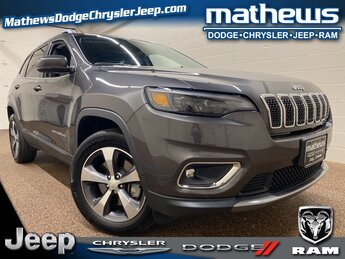 2019 Granite Crystal Metallic Clearcoat Jeep Cherokee Limited 4X4 Automatic SUV 4 Door 2.0L I4 DOHC Engine