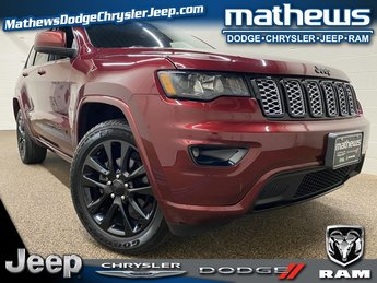 2017 Velvet Red Pearlcoat Jeep Grand Cherokee Altitude 3.6L V6 24V VVT Engine Automatic 4 Door 4X4 SUV