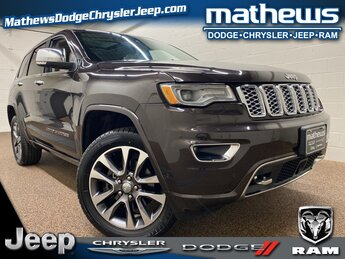 2017 Jeep Grand Cherokee Overland 3.6L V6 24V VVT Engine SUV 4X4 4 Door