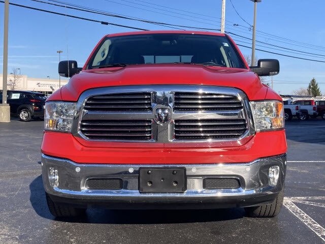 2019 Flame Red Clearcoat Ram 1500 Classic Big Horn Automatic Truck HEMI 5.7L V8 Multi Displacement VVT Engine 4X4