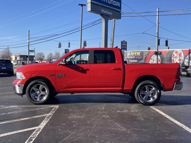 2019 Flame Red Clearcoat Ram 1500 Classic Big Horn HEMI 5.7L V8 Multi Displacement VVT Engine Automatic Truck 4 Door