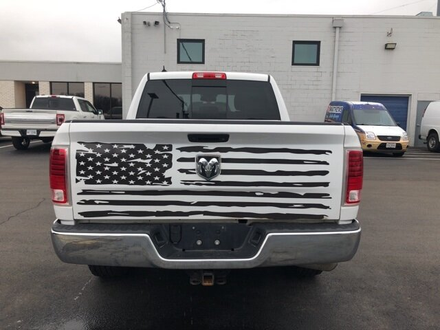 2016 Bright White Clearcoat Ram 1500 Laramie Automatic 4X4 4 Door