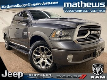 2018 Ram 1500 Limited Automatic 4 Door HEMI 5.7L V8 Multi Displacement VVT Engine