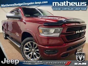 2019 Ram 1500 Laramie HEMI 5.7L V8 Multi Displacement VVT Engine 4 Door Truck
