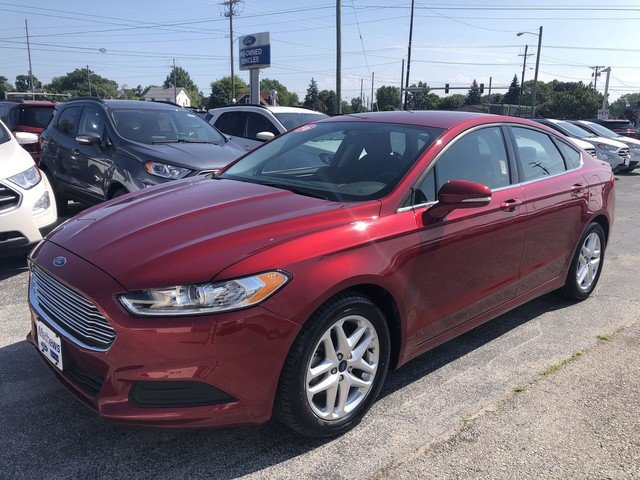 2016 Ford Fusion SE Automatic 2.5L 4-Cyl Engine FWD 4 Door Sedan