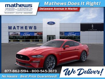 2020 Red Ford Mustang GT Premium 5.0L V8 Ti-VCT Engine Automatic Car