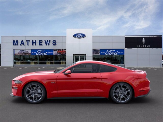 2020 Red Ford Mustang GT Premium 5.0L V8 Ti-VCT Engine 2 Door RWD Car