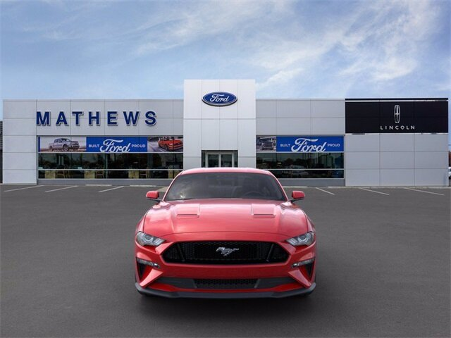 2020 Red Ford Mustang GT Premium Automatic Car 5.0L V8 Ti-VCT Engine