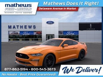 2020 Twister Orange Tri-Coat Ford Mustang GT Coupe Manual RWD 5.0L V8 Ti-VCT Engine 2 Door