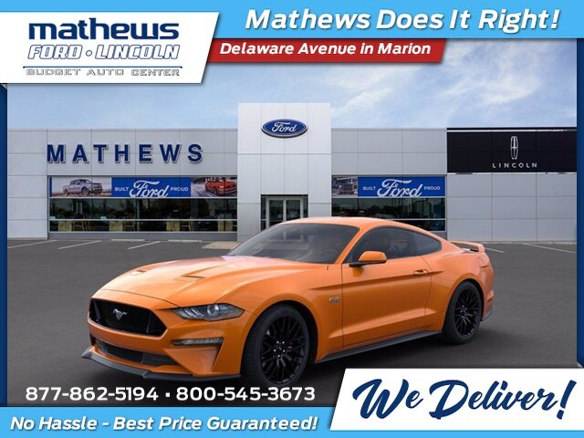 2020 Twister Orange Tri-Coat Ford Mustang GT 2 Door Manual 5.0L V8 Ti-VCT Engine
