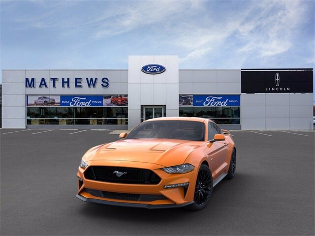 2020 Ford Mustang GT RWD 5.0L V8 Ti-VCT Engine Manual 2 Door Coupe