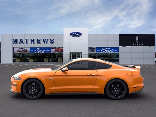 2020 Twister Orange Tri-Coat Ford Mustang GT Coupe 5.0L V8 Ti-VCT Engine RWD