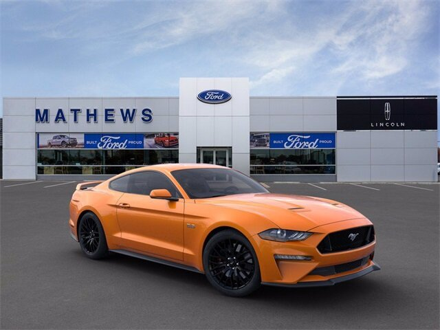 2020 Twister Orange Tri-Coat Ford Mustang GT RWD Coupe Manual 2 Door