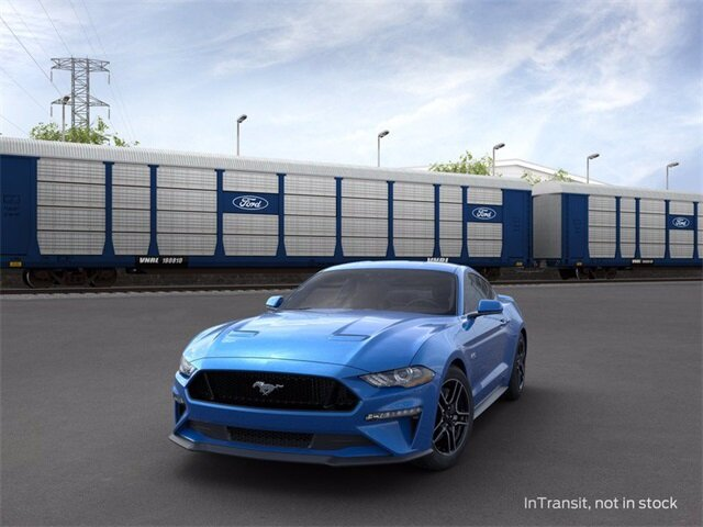 2020 Velocity Blue Metallic Ford Mustang GT 5.0 L 8-Cylinder Engine Coupe 2 Door