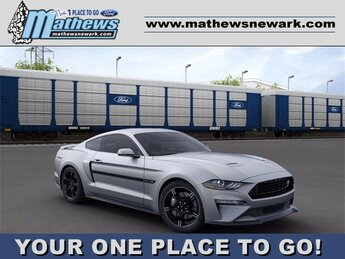2020 Iconic Silver Metallic Ford Mustang GT 5.0 L 8-Cylinder Engine 2 Door Car