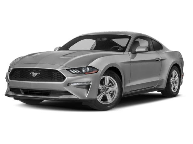 2019 Ingot Silver Metallic Ford Mustang EcoBoost 2 Door Automatic 2.3L 4-Cyl Engine RWD Coupe