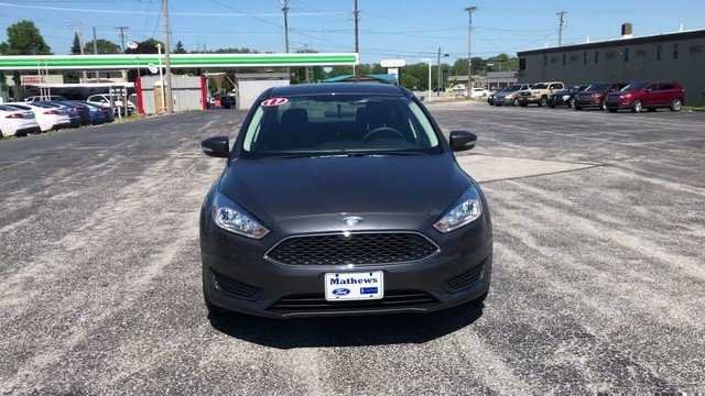 2017 Ford Focus SE FWD Sedan Automatic 2.0L 4-Cyl Engine 4 Door