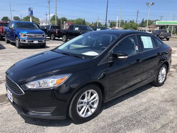 2016 Shadow Black Ford Focus SE 4 Door Automatic Sedan