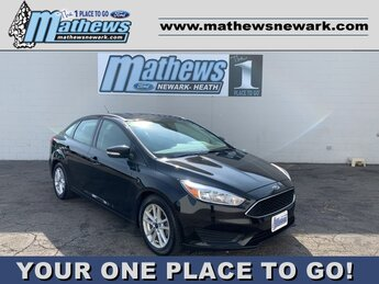 2017 Shadow Black Ford Focus SE 4 Door Sedan 2.0 L 4-Cylinder Engine