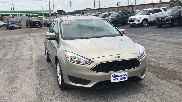 2016 Ford Focus SE 1.0L Ecoboost Sfe Engine Sedan FWD