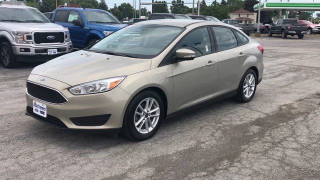 2016 Tectonic Ford Focus SE Sedan Manual 4 Door
